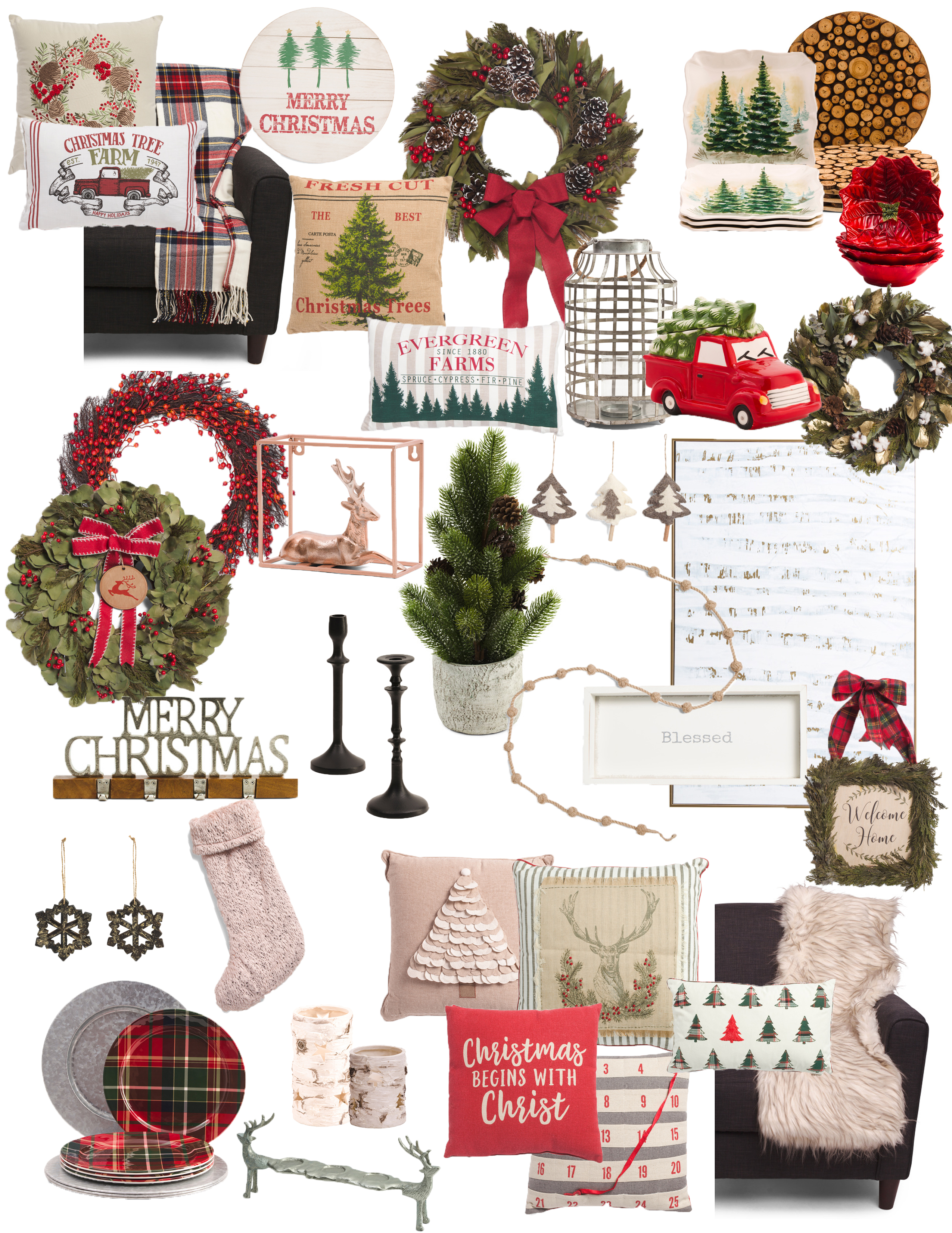 50 Cozy Christmas Finds Under 50 From Tj Maxx Charming North